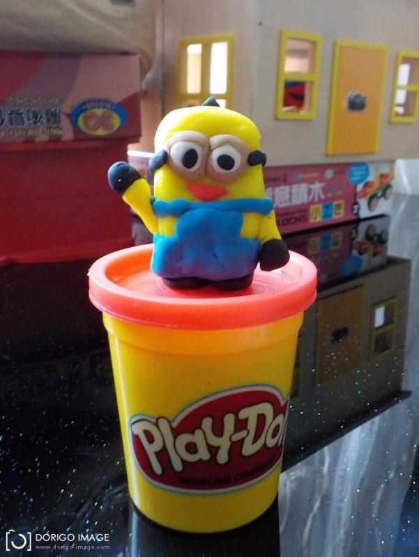 培樂多 Play-Doh 黏土 做小小兵