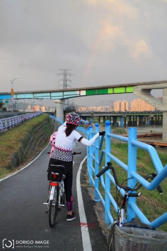 親子單車 土城騎到碧潭