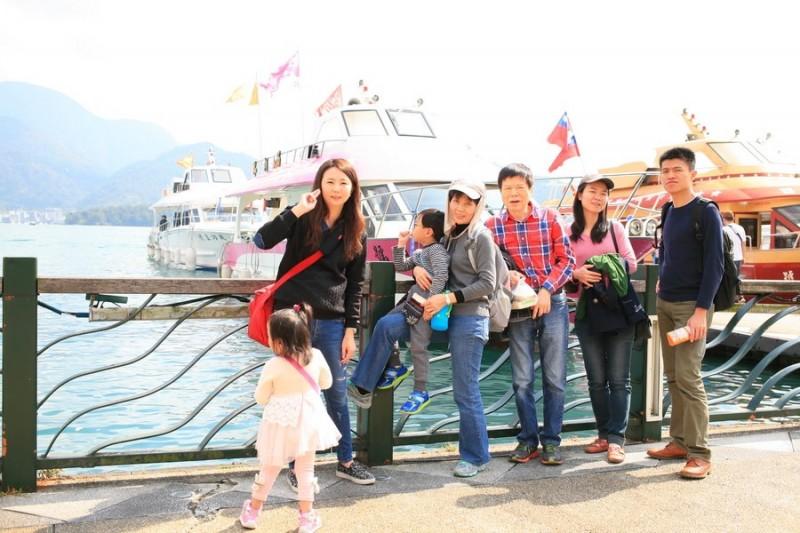 日月潭 搭乘碼頭遊艇